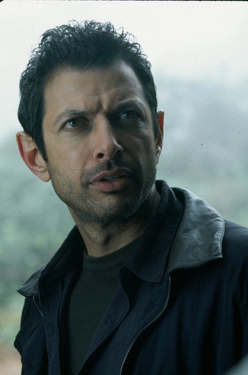 "Jeff Goldblum in ""The Lost World: Jurassic Park"" (1997)"