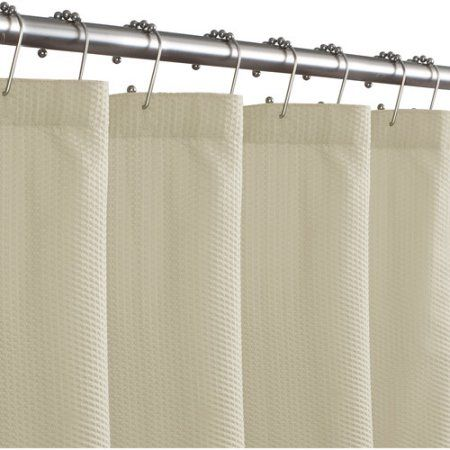 Maytex Norwich Fabric Shower Curtain Liner Size 72 Inch Large X