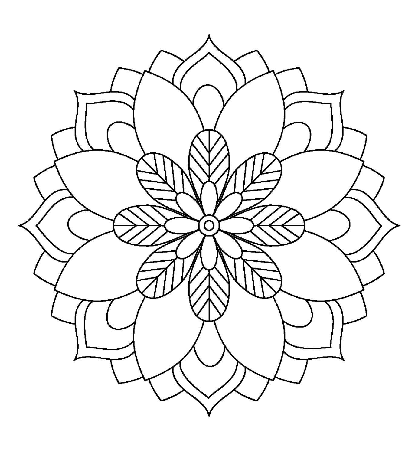 Pin By Anne Delfin On Minhwa Mandala Coloring Pages
