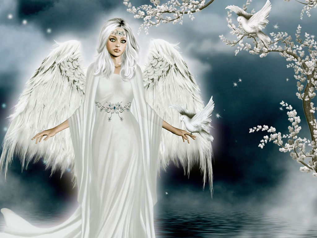Beautiful angel angels wallpaper