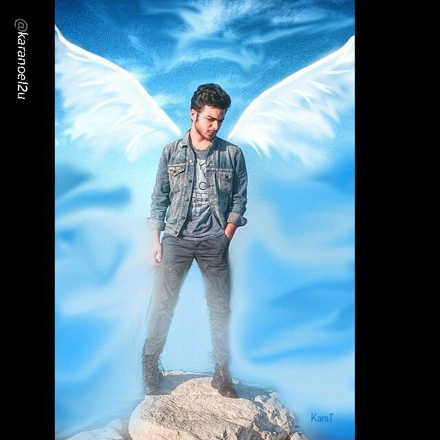 The angel Gianluca!
