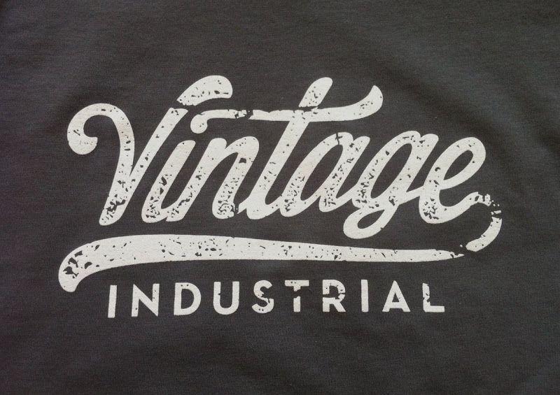 Vintage Industrial Inspired Retro Logo Design Vintage Logo Design Logo Design Typography