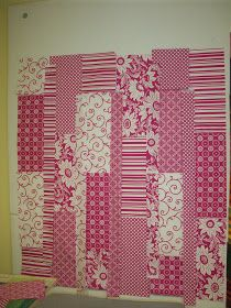 Quilting by Judith: Easy Peasy Strip Quilt