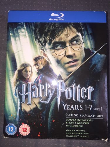 Harry potter blu-ray #collection - years 1-7 #part1 , View more on - harry potter resume