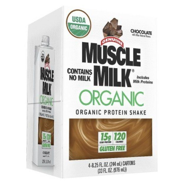 Muscle Milk Organic Chocolate Protein Shake 33 Oz Reviews Q A Influenster Muscle Milk Vanilla Protein Shakes Chocolate Protein Shakes