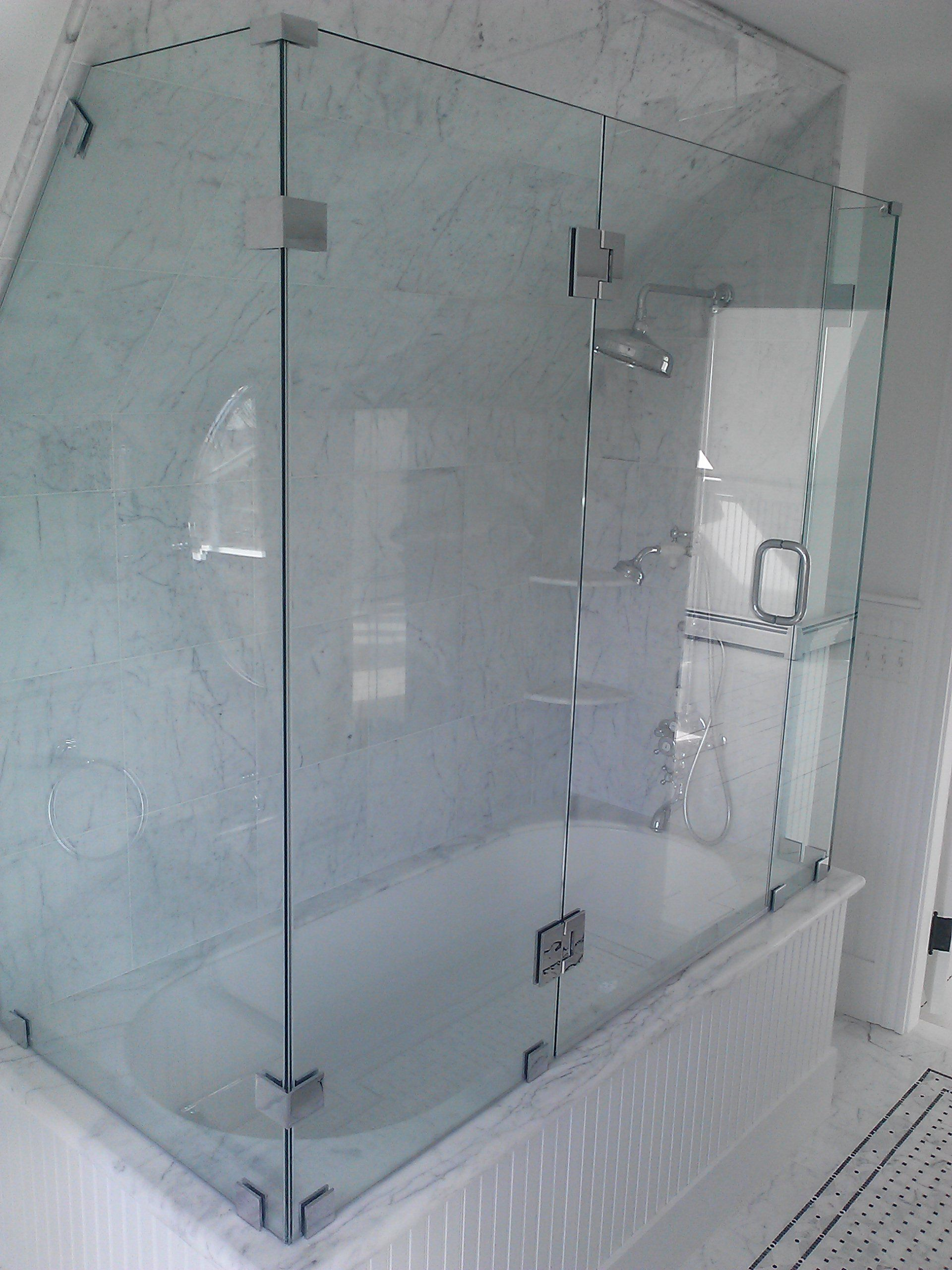 I Would Love A Big Glass Shower Like This Someday My Only Worry