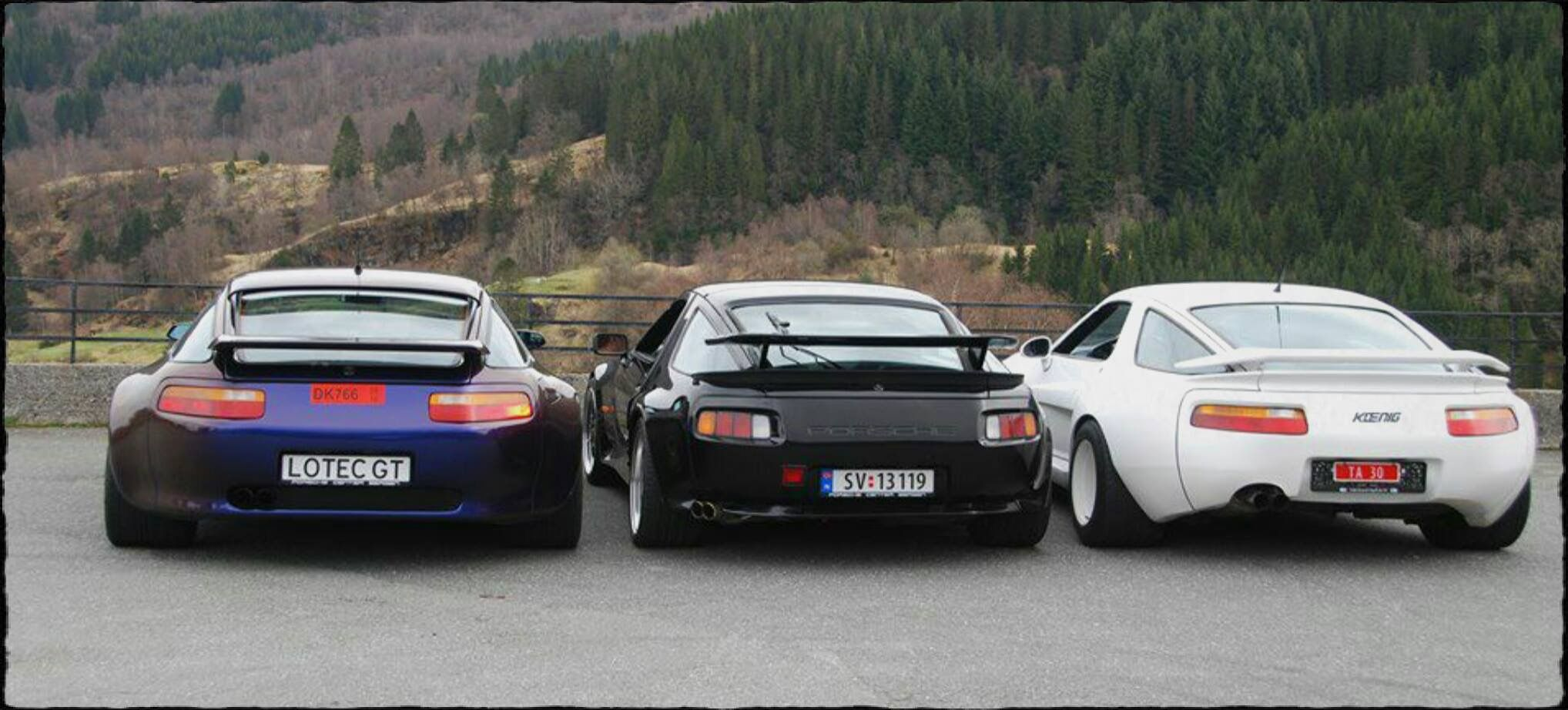 Porsche 928 Lotec Strosek Koenig Porsche 928 Porsche