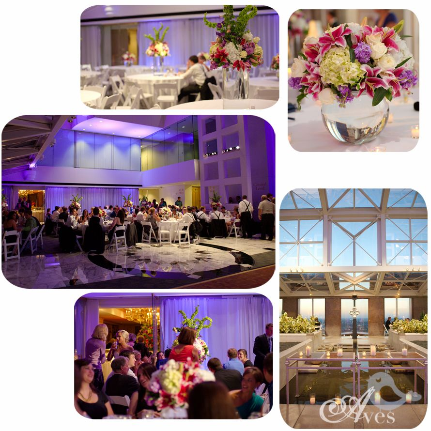 Father Daughter Dance At Dallas Petroleum Club Reception 40th Floor Sky Lobby Pinterest