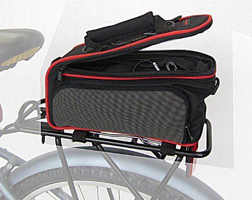 Rear Rack Bag With Retractable Side Panniers Bicycle By Biria Picolo