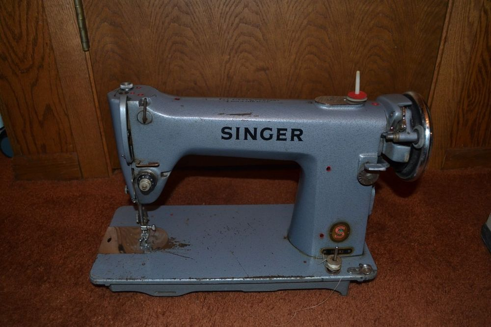 Details about Heavy Duty Singer Sewing Machine Vintage