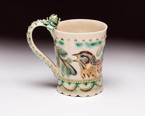 Bird Cup, Claire Prenton Ceramics