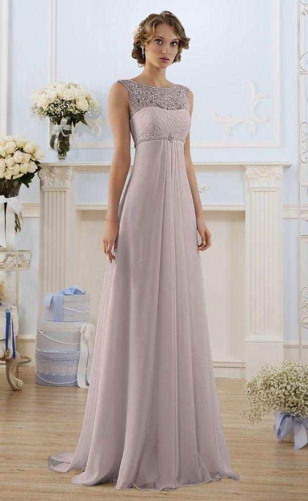 Beautiful Lace Chiffon Embellished Dress Empire Line Silhouette Sweetheart Shaped Bodice With Lace Overlay Wedding Dresses Bridal Dresses Empire Wedding Dress