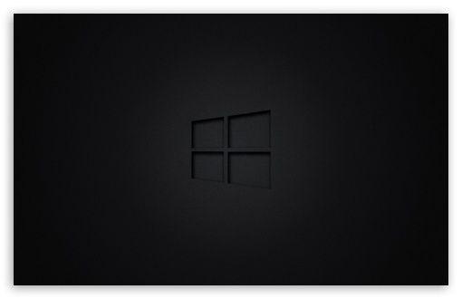 Windows 10 Black Hd Wallpaper For 4k Uhd Widescreen Desktop