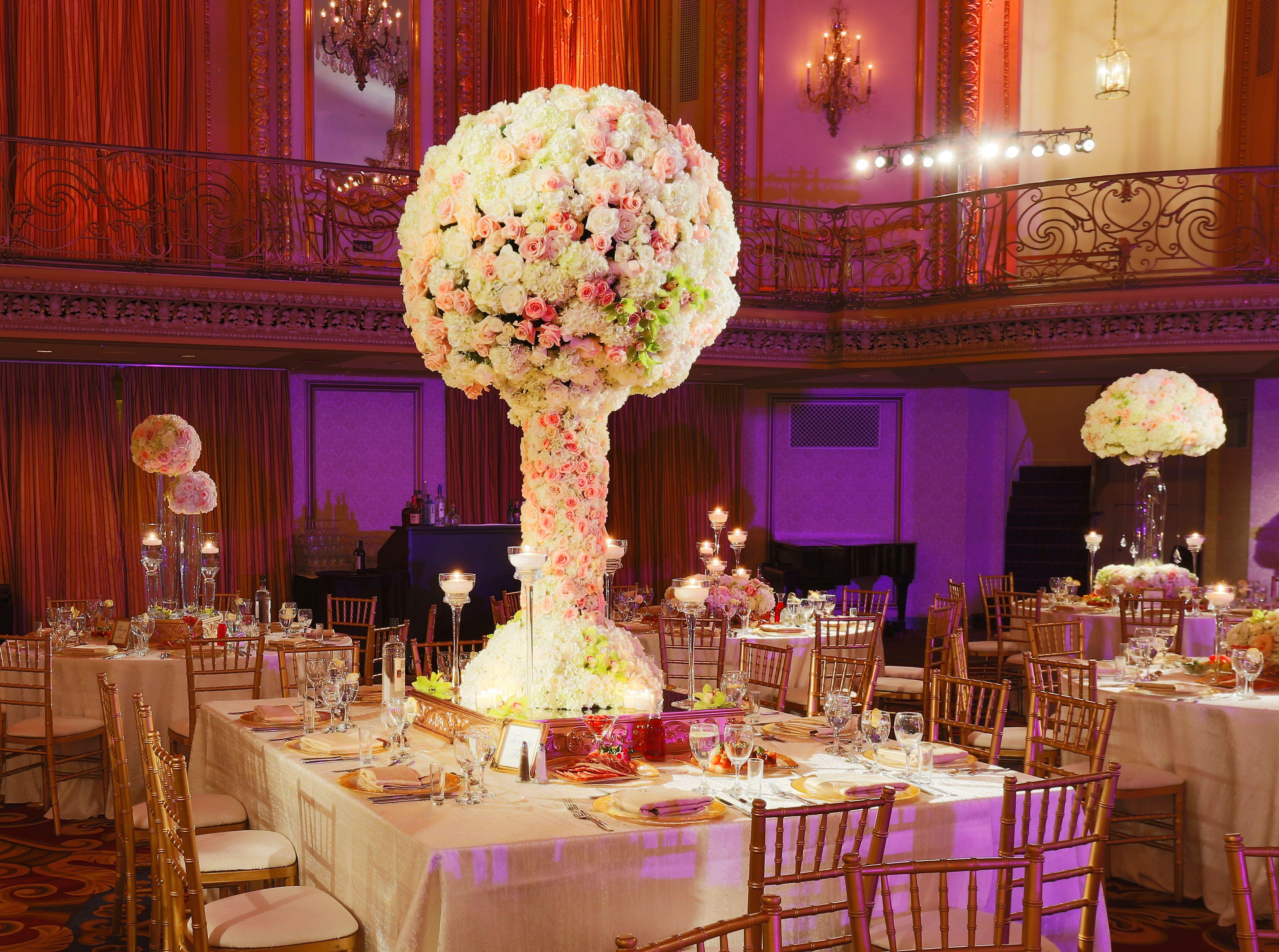 Hilton Chicago Oak Brook Hills Resort And Conference Center Wedding Centerpieces Indian Wedding Reception Indian Wedding Ceremony