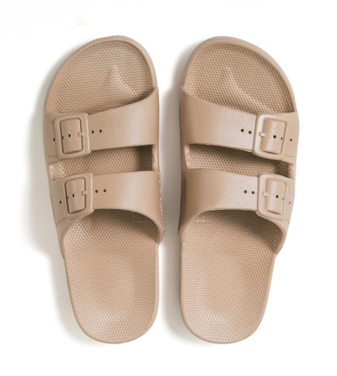 Freedom Moses Slides Sands Wrecked Vintage Womens Slides Leopard Print Shoes Comfortable Sandals