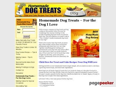 awesome Homemade Dog Treats