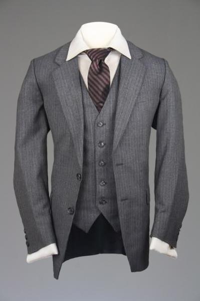 ebed72c6cb5 Yves Saint Laurent 3 Piece Wedding Suit | Suits | Wool vest, 3 piece ...