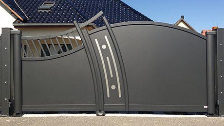 portail alu atlantide grills pinterest gate gate design and iron gates. Black Bedroom Furniture Sets. Home Design Ideas