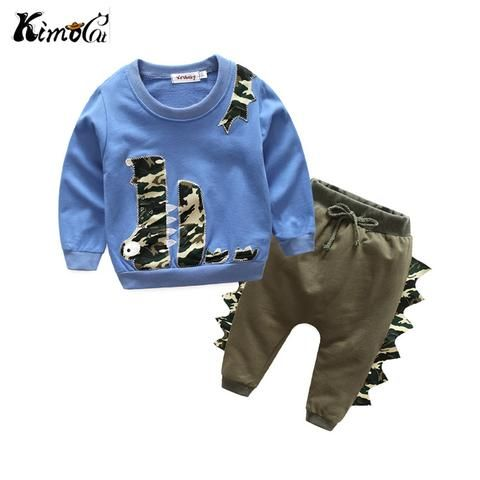 774464789996 Kimocat Spring and autumn long-sleeved cotton baby boy and girl ...