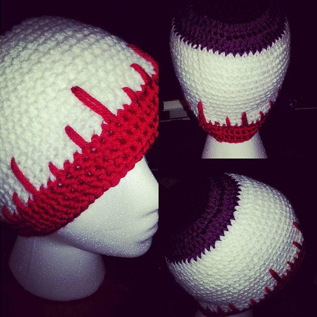 Eyeball Beanie Adult Hat – free crochet Halloween hat pattern from ...