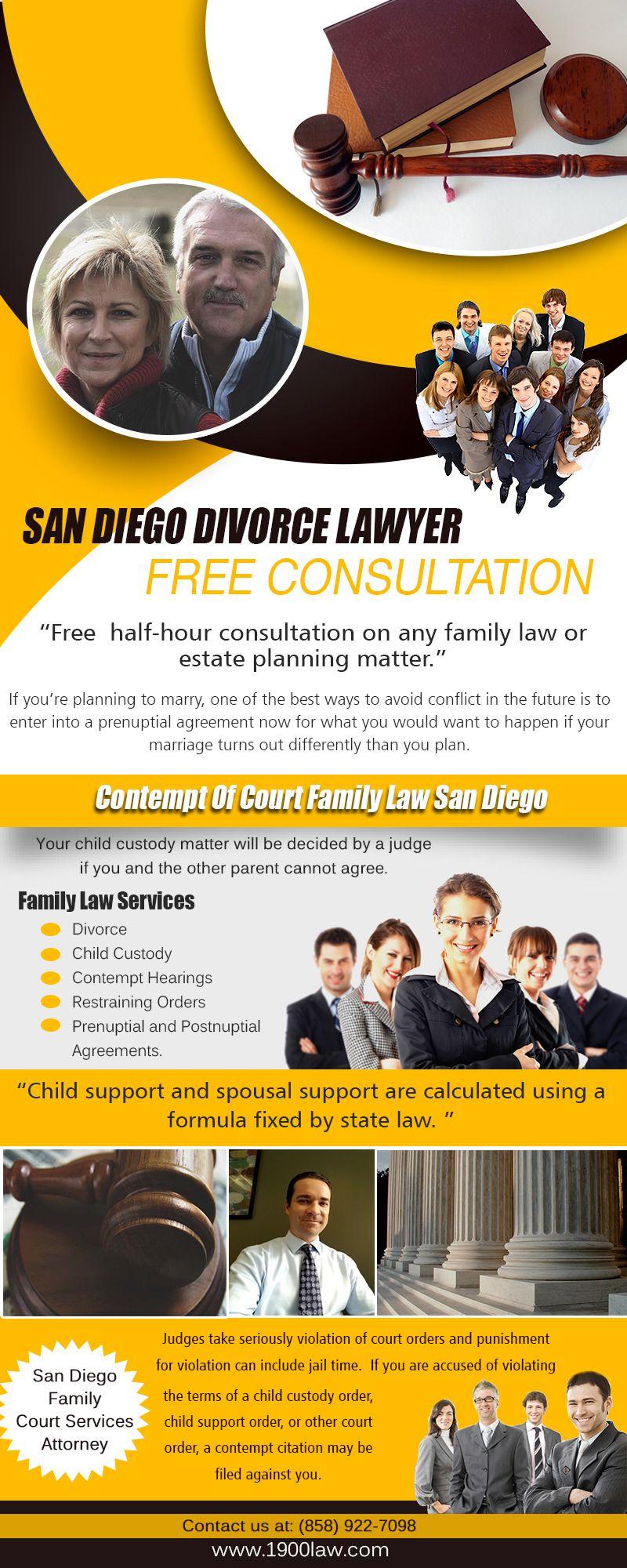 Divorce Attorney in San Diego Divorce, Family law