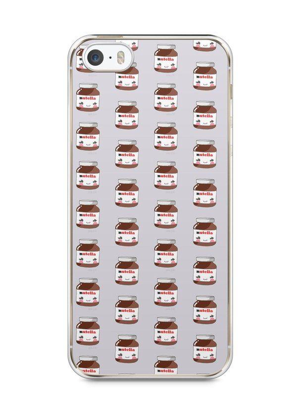 Capa Iphone 5/S Nutella #6 - SmartCases - Acessórios para celulares e tablets :)