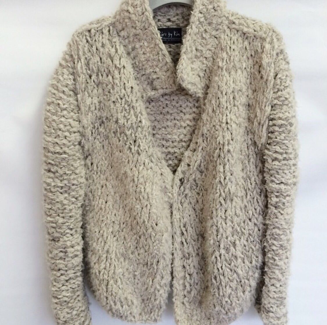 Short chunky cardigan | Dziewiarstwo(knitting) | Pinterest ...