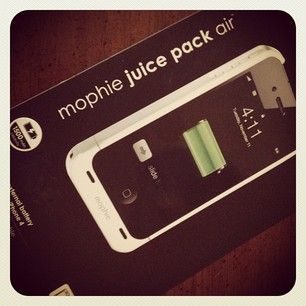 Love my Mophie to recharge my iPhone