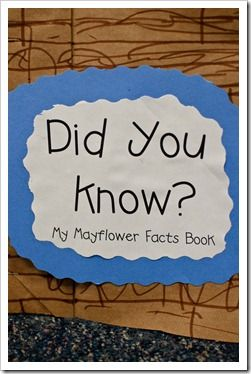 If You Sailed On The Mayflower Thanksgiving Pinterest First