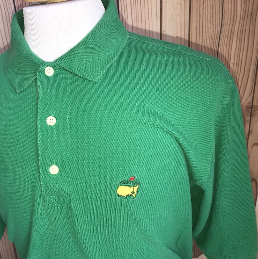 74b5225550 MASTERS KELLY GREEN AUGUSTA NATIONAL MENS SIZE L SLAZENGER GOLF POLO GOLF  SHIRT #fashion #clothing #shoes #accessories #mensclothing #shirts (ebay  link)