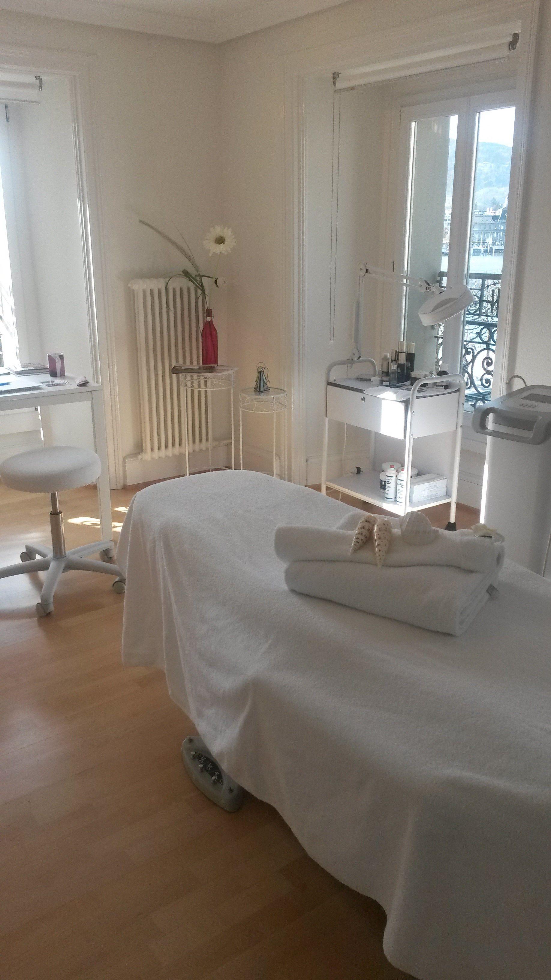 Der neue Behandlungsraum im Grand Hotel National