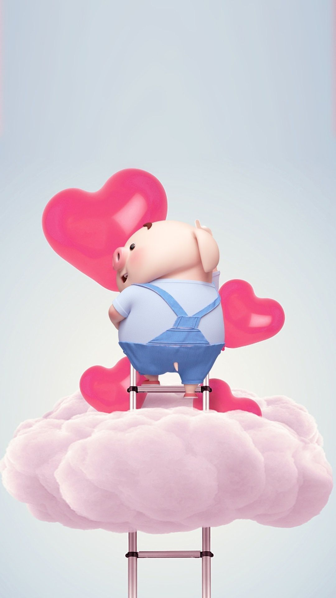 Pin by 惠玲 黃 on 豬小屁(Love) Pig wallpaper, Pig illustration