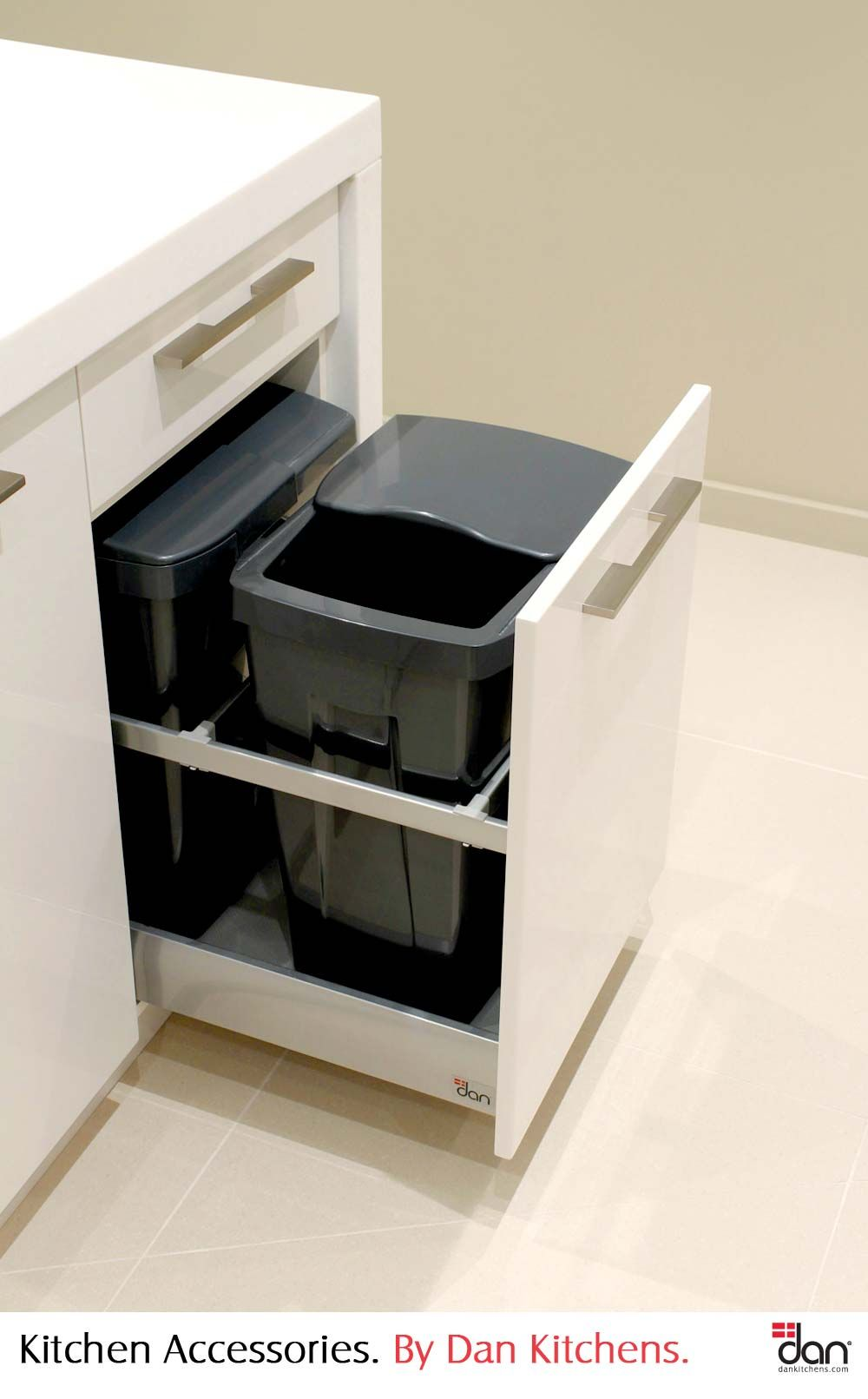 Bin Drawer System U003eu003eu003e Who Wants To See And Smell A Bin Out In The Open! Put  It In A Drawer, Away From Sight. Dan Kitchens Always Incorporates A Bin  Drawer ...