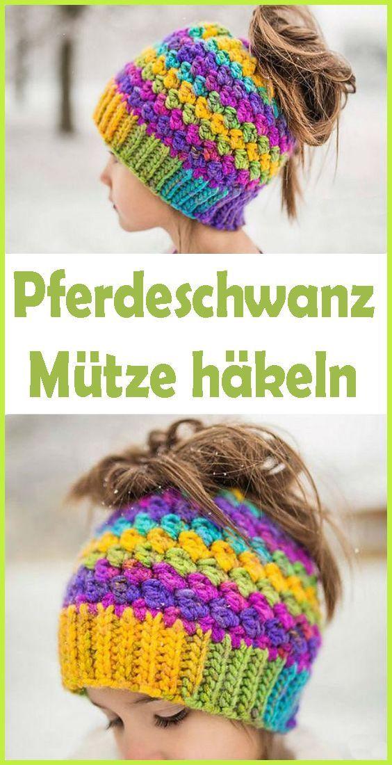 Photo of Crochet Zopfmütze – free & simple instructions  – Häkeln, Sticken & Stricken -…