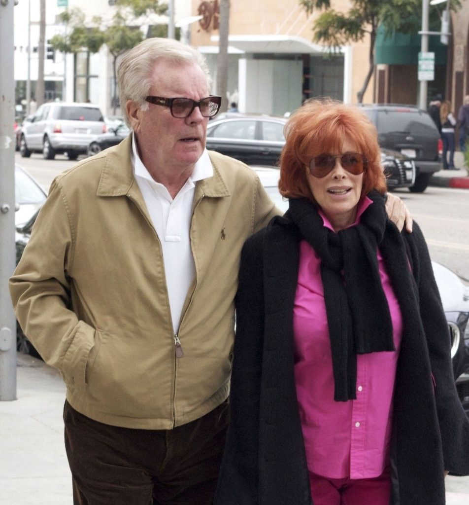 Robert Wagner and his wife Jill St. John photo taken