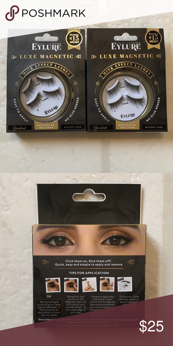 f7f9497c67b Set of 2 NEW Eylure Opulent Luxe Magnetic Lashes Love these lashes! These  are style