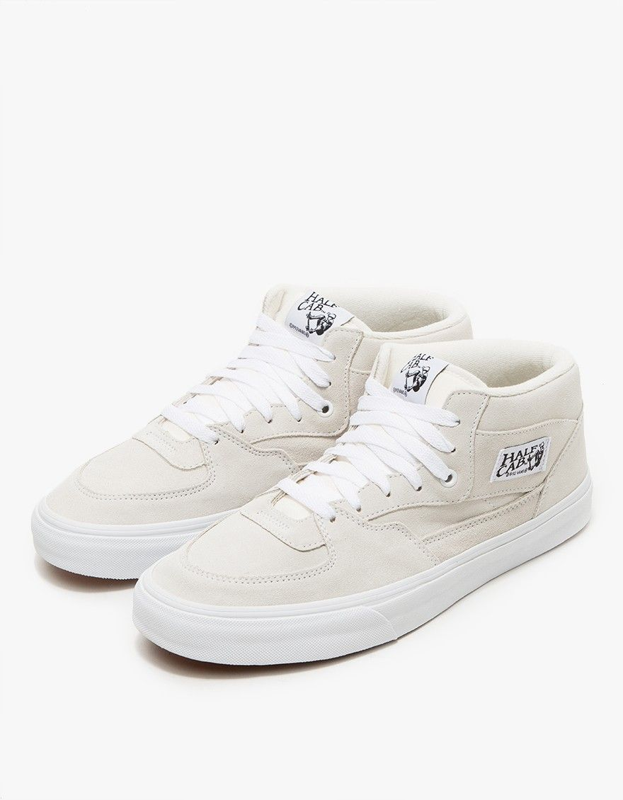 5e9be19d9ea Vans   UA Half Cab in White