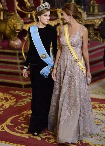 Gala Dinner Visit Of President Mauricio Macri To Spain
