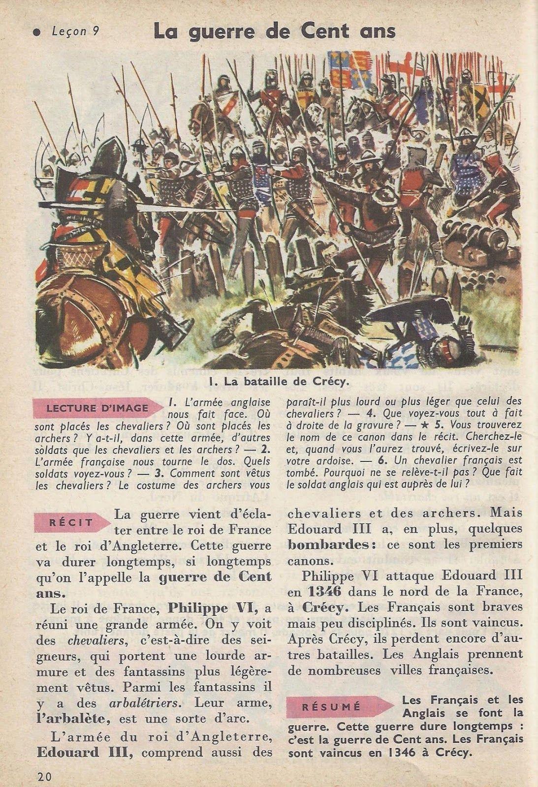 La Guerre De Cent Ans C'est Pas Sorcier : guerre, c'est, sorcier, Guerre, Histoire, Francais,, Universelle,, Monde
