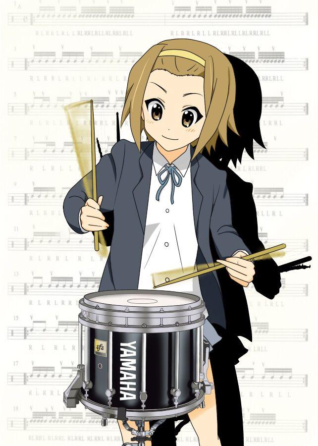 Daily Ritsu 585 Little Drummer Girl K On Anime Art Girl