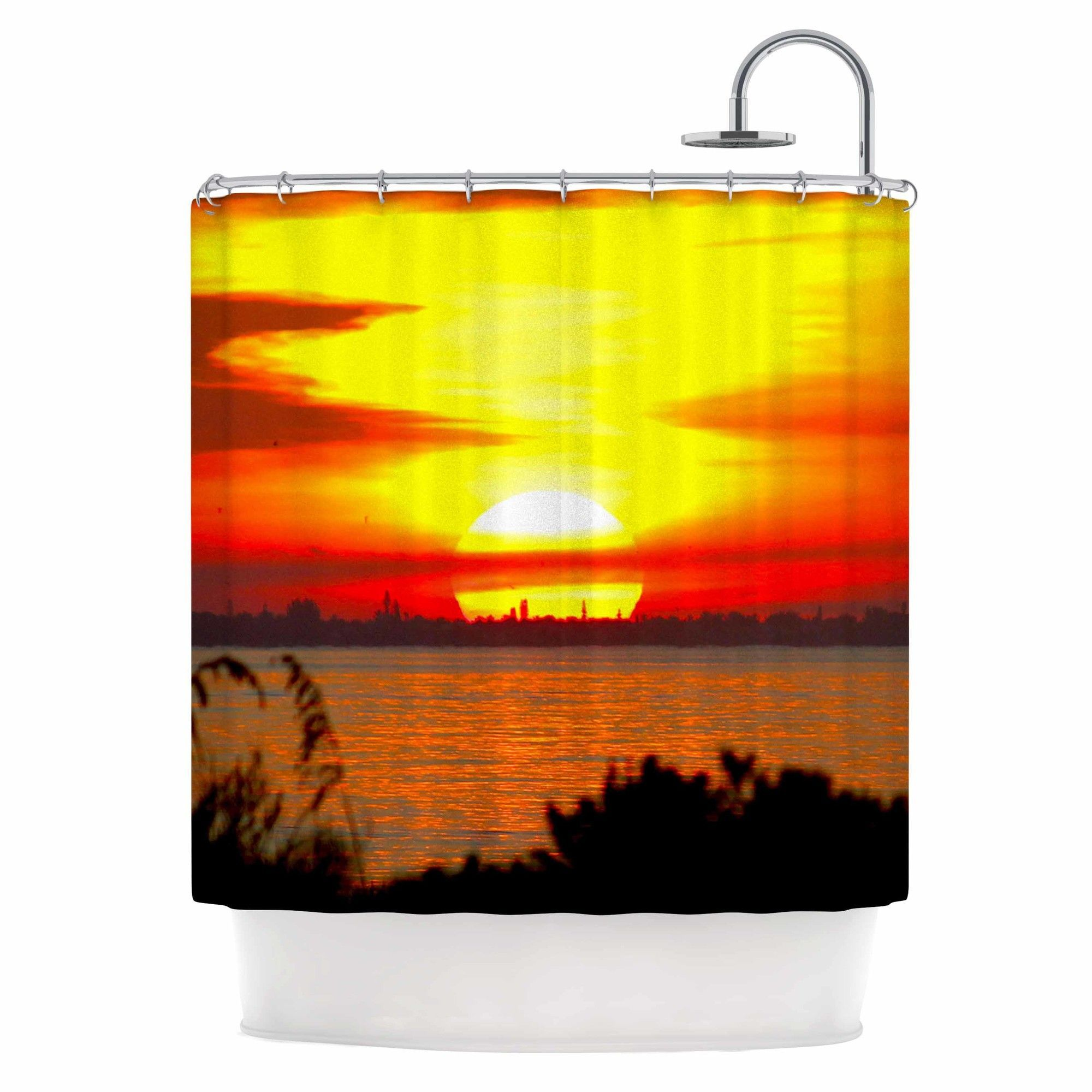 Products Sunrise Shower Curtain