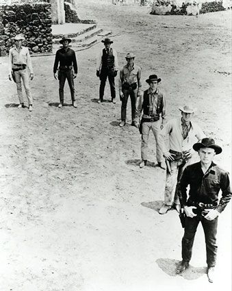 The Magnificent Sevenone of the many westerns