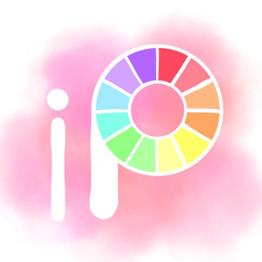 Ibis Paint X Aesthetic Icon Purple Aesthetic Tech Logos School Logos
