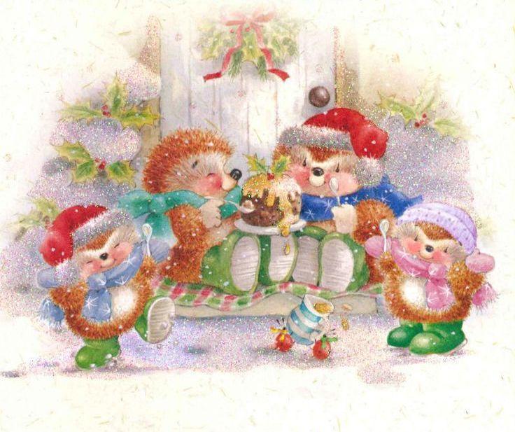 Country Companions ♥ | Christmas paintings, Christmas ...
