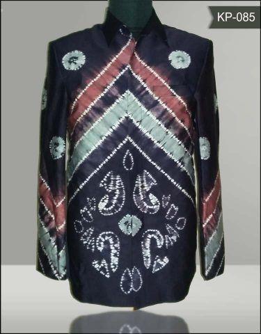Baju Sasirangan : sasirangan, Model-baju-sasirangan-kp085, Model,, Gambar,