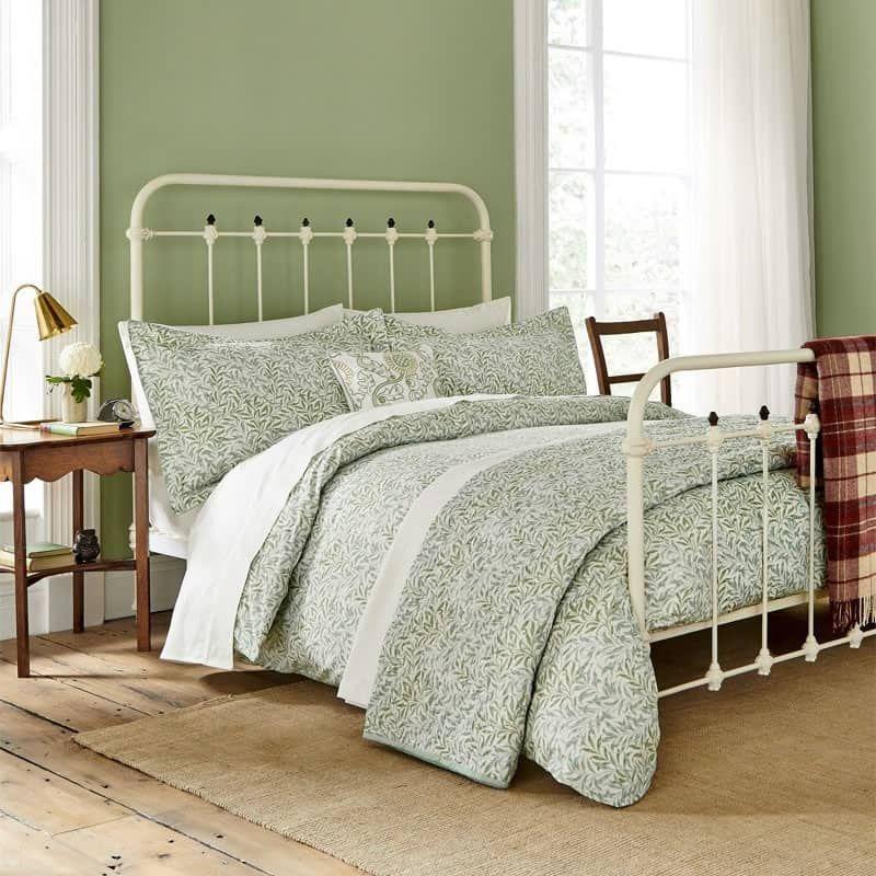Willowbough Sage Justlinen Green Duvet Covers Bedroom Green Tree Bedroom