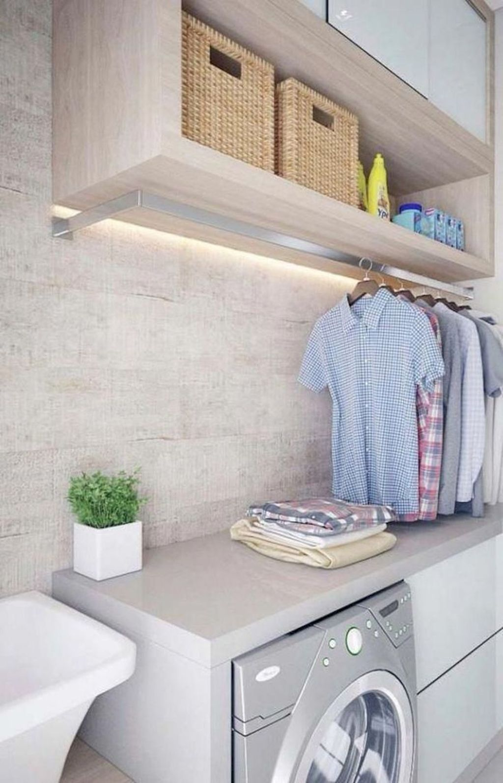 50 Perfect Functional Laundry Room Decoration Ideas For Low Budget