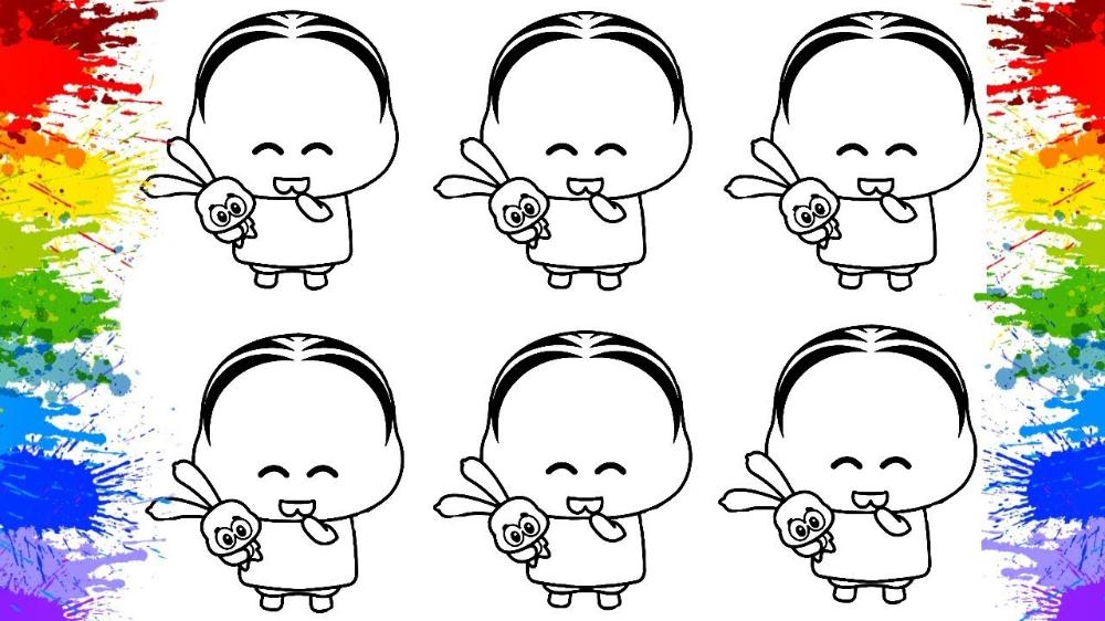 Desenho Da Turma Da Monica Toy Pintar Cores Para Criancas Na
