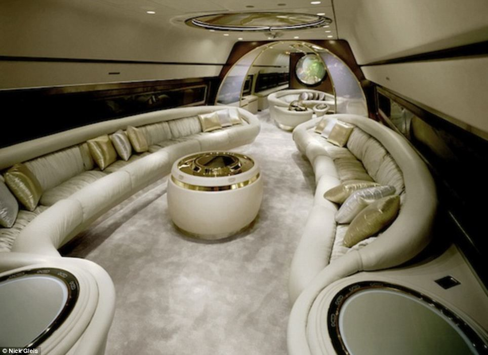 Souvent 200 best Private Jets Interior images on Pinterest | Aircraft  JB45