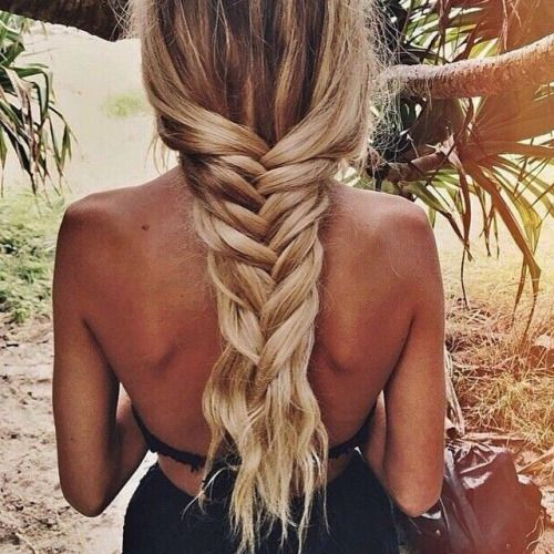 Beach hair. #braid #braided #beach